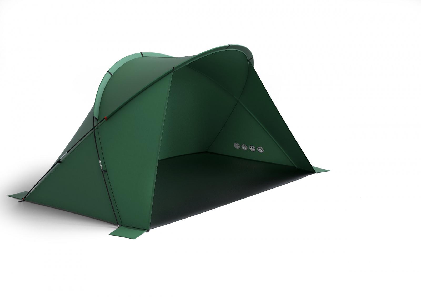 Husky Blum 4 zelená Stan Outdoor
