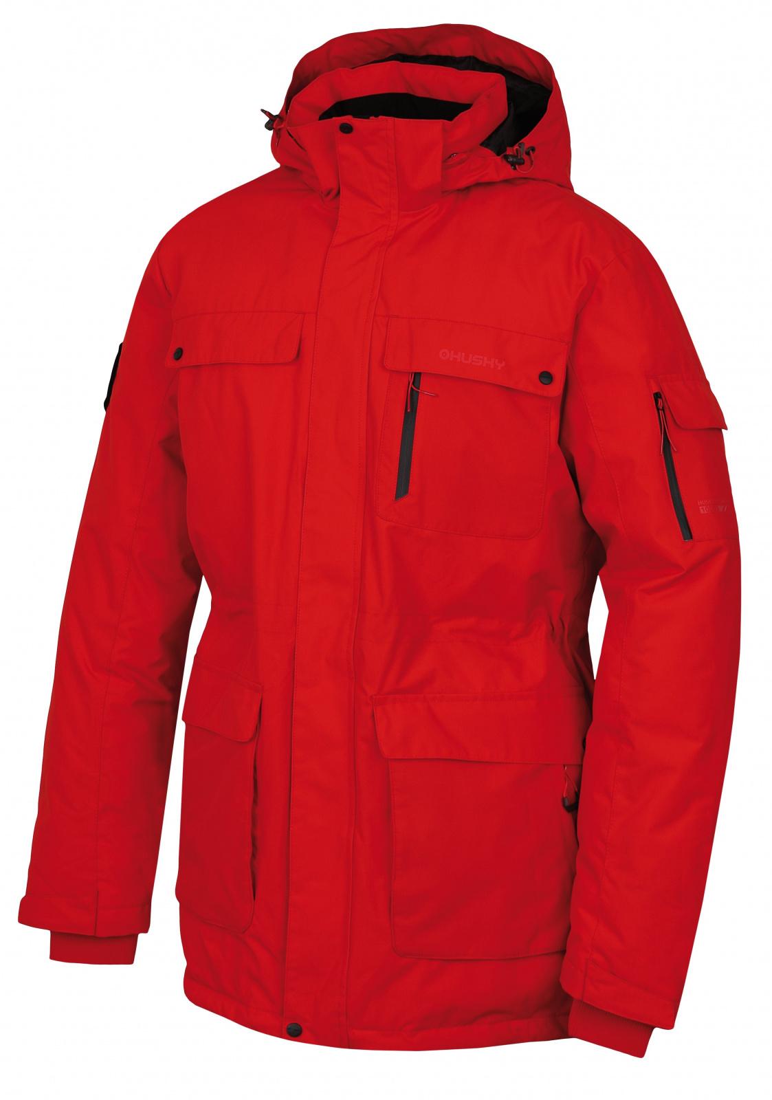 Husky Dantex M červená, XL Pánska perová bunda