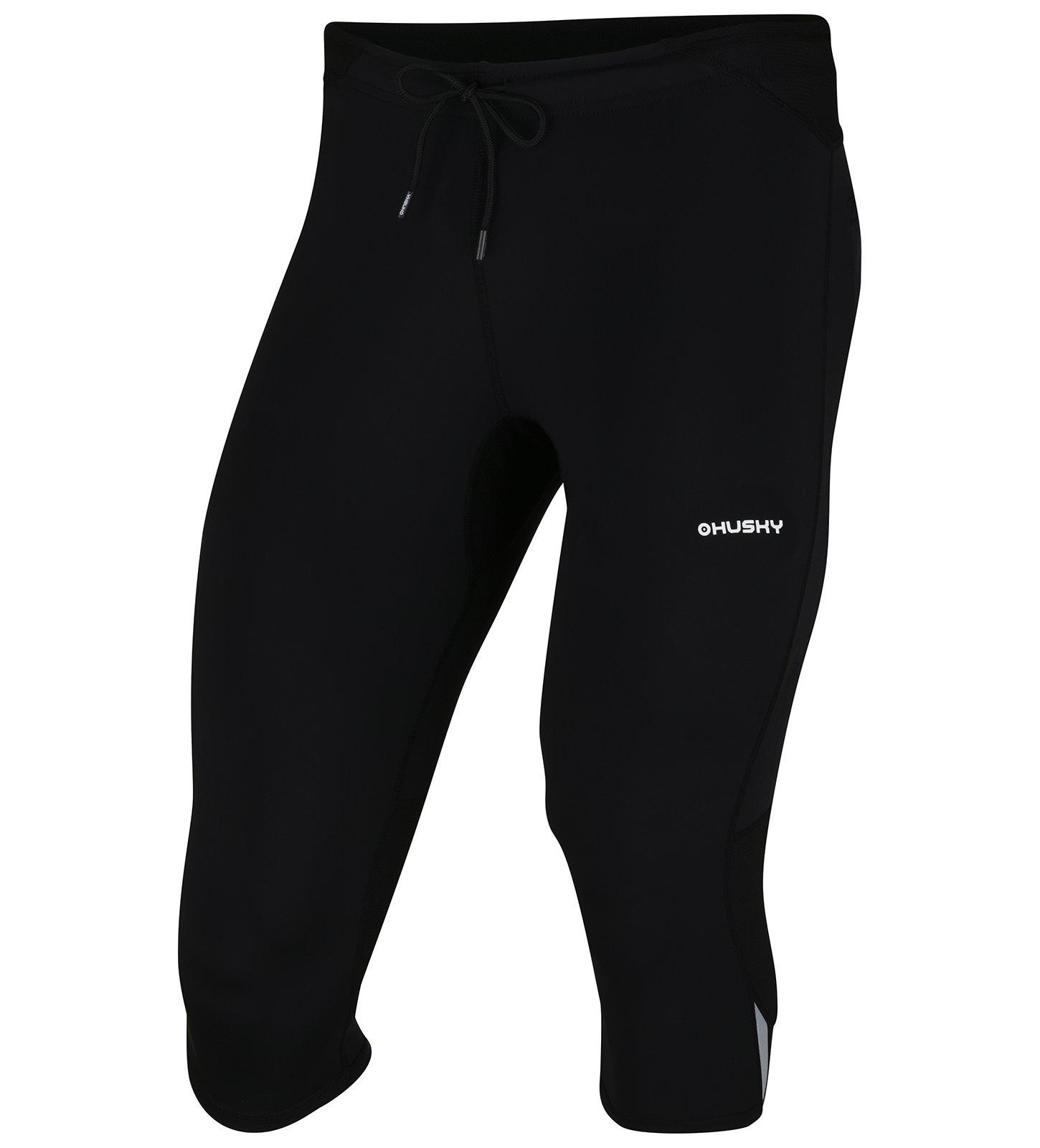 Husky Darby M čierna, XL Pánske 3/4 nohavice