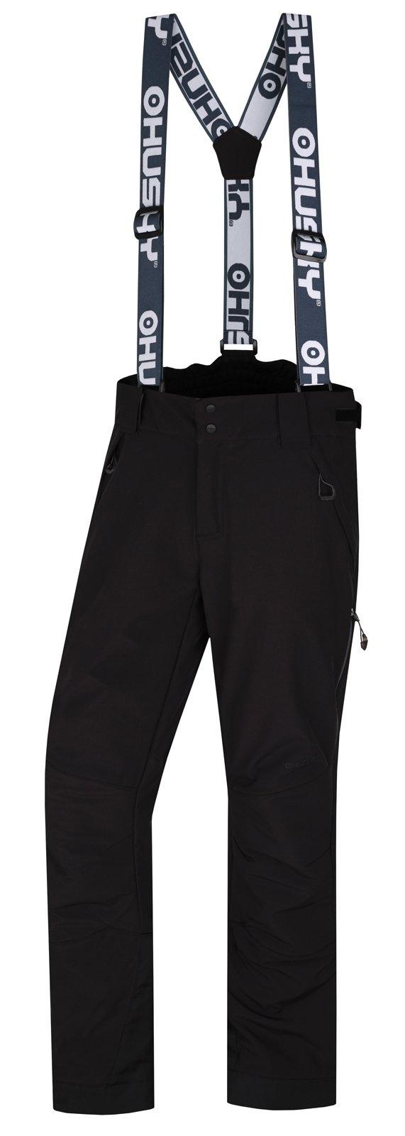 Husky Galti M čierna, XL Pánske lyžiarske nohavice