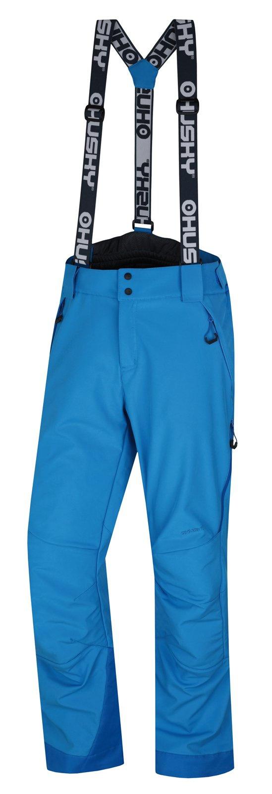 Husky Galti M 2018 modrá, XL Pánske lyžiarske nohavice