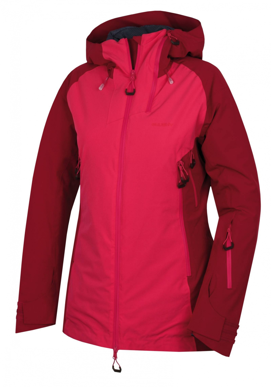 Husky Gambola L purpurová / ružová, XL Dámska hardshell plnená bunda