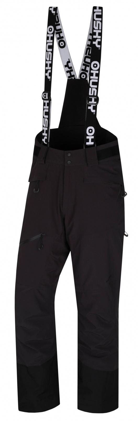 Husky Gilep M čierna, XL Pánske lyžiarske nohavice