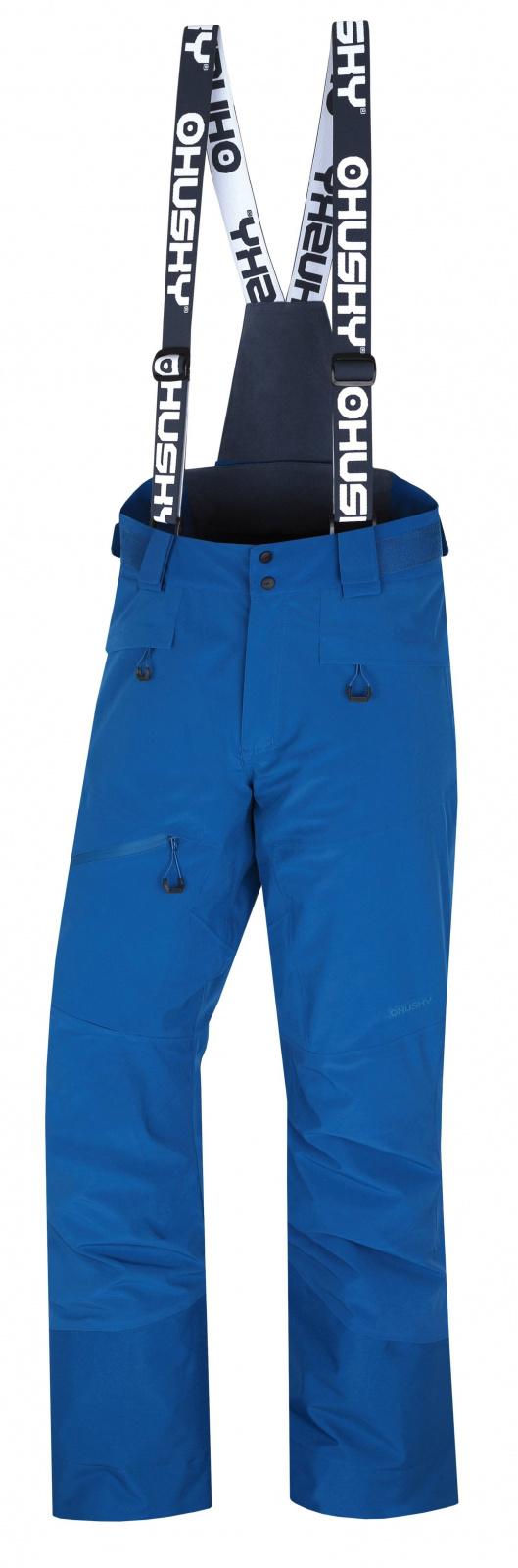 Husky Gilep M tm. modrá, XL Pánske lyžiarske nohavice