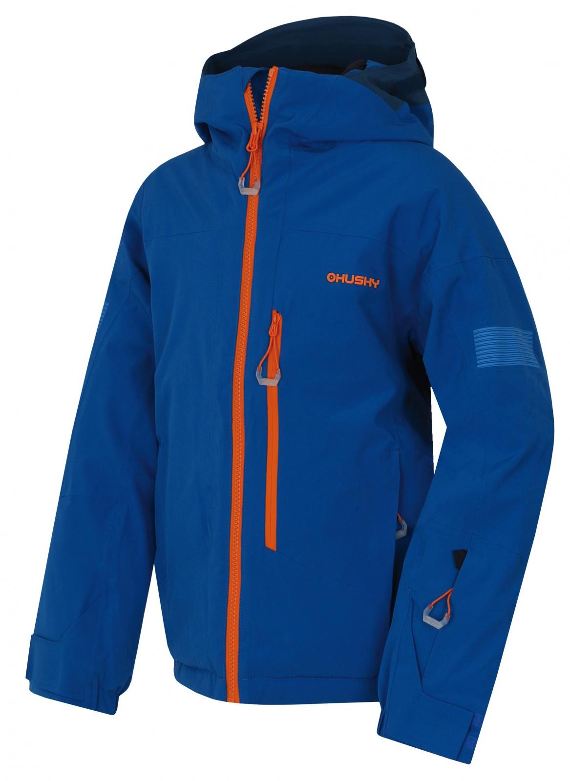 Husky Gomez Kids modrá, 134 Detská ski bunda