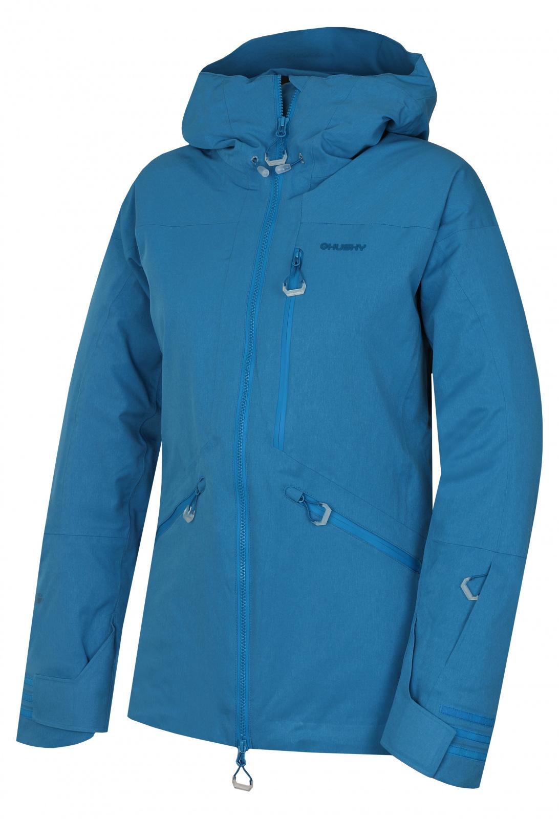 Husky Gomez l modrá, M Dámska lyžiarská bunda
