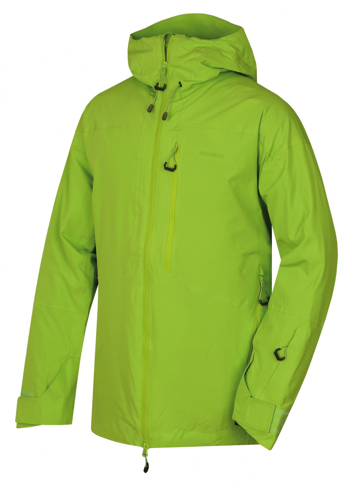 Husky Gomez M zelená, XXL Pánska lyžiarska bunda