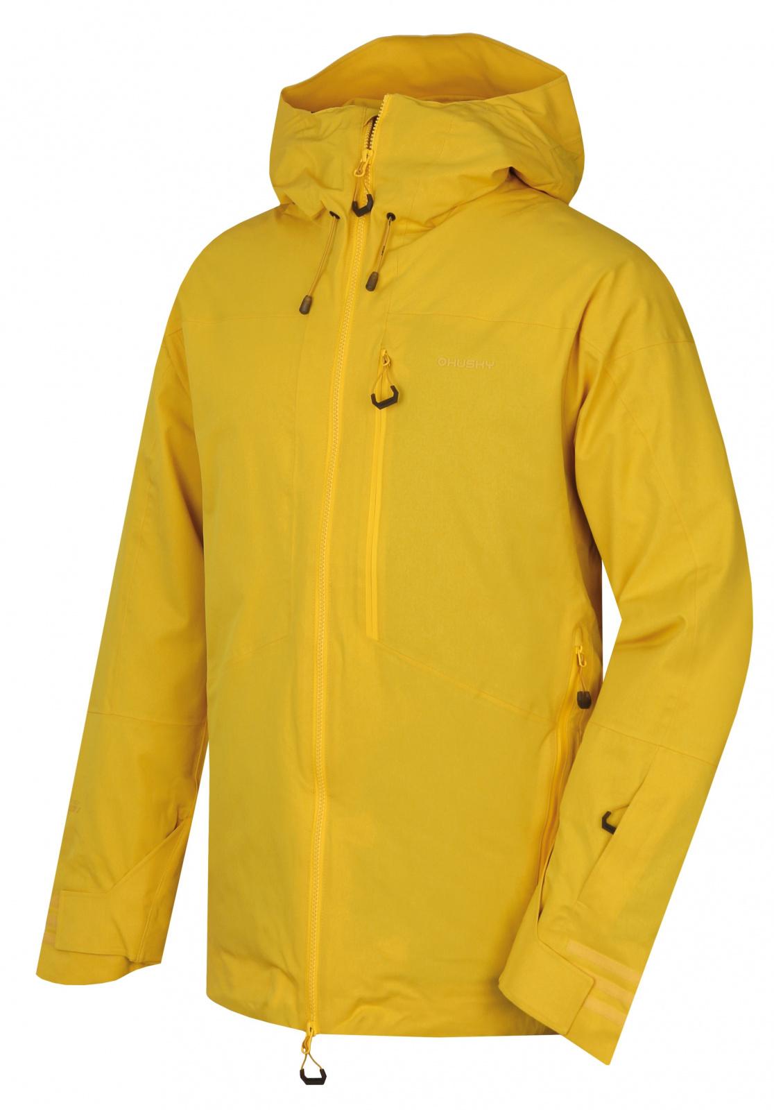 Husky Gomez M žltá, XXL Pánska lyžiarska bunda