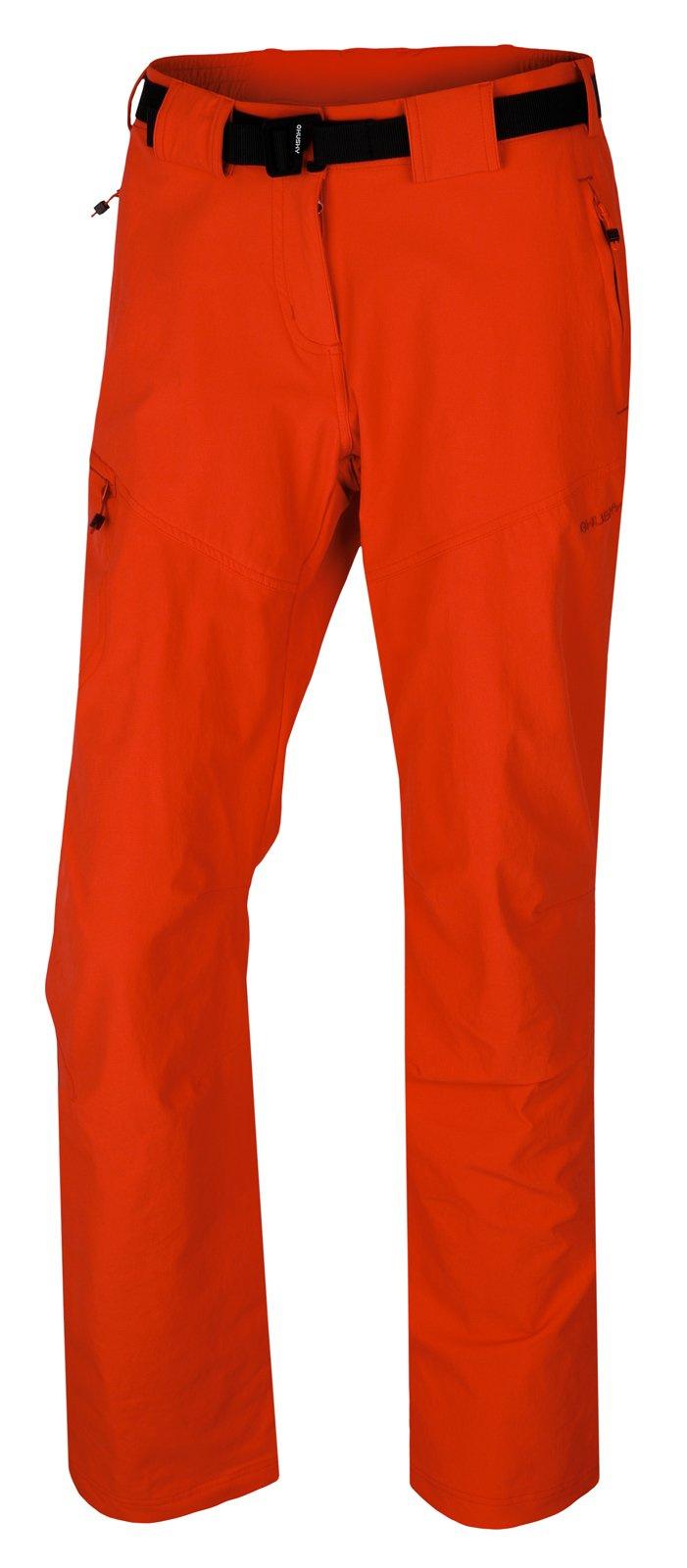 Husky Keiry L sv. červená, XL Dámske sofshellové nohavice