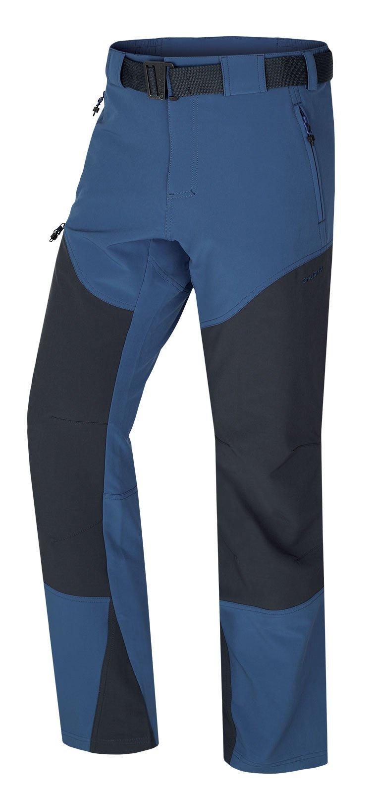 Husky Keiry M tm. modrá, M Pánske softshellové nohavice