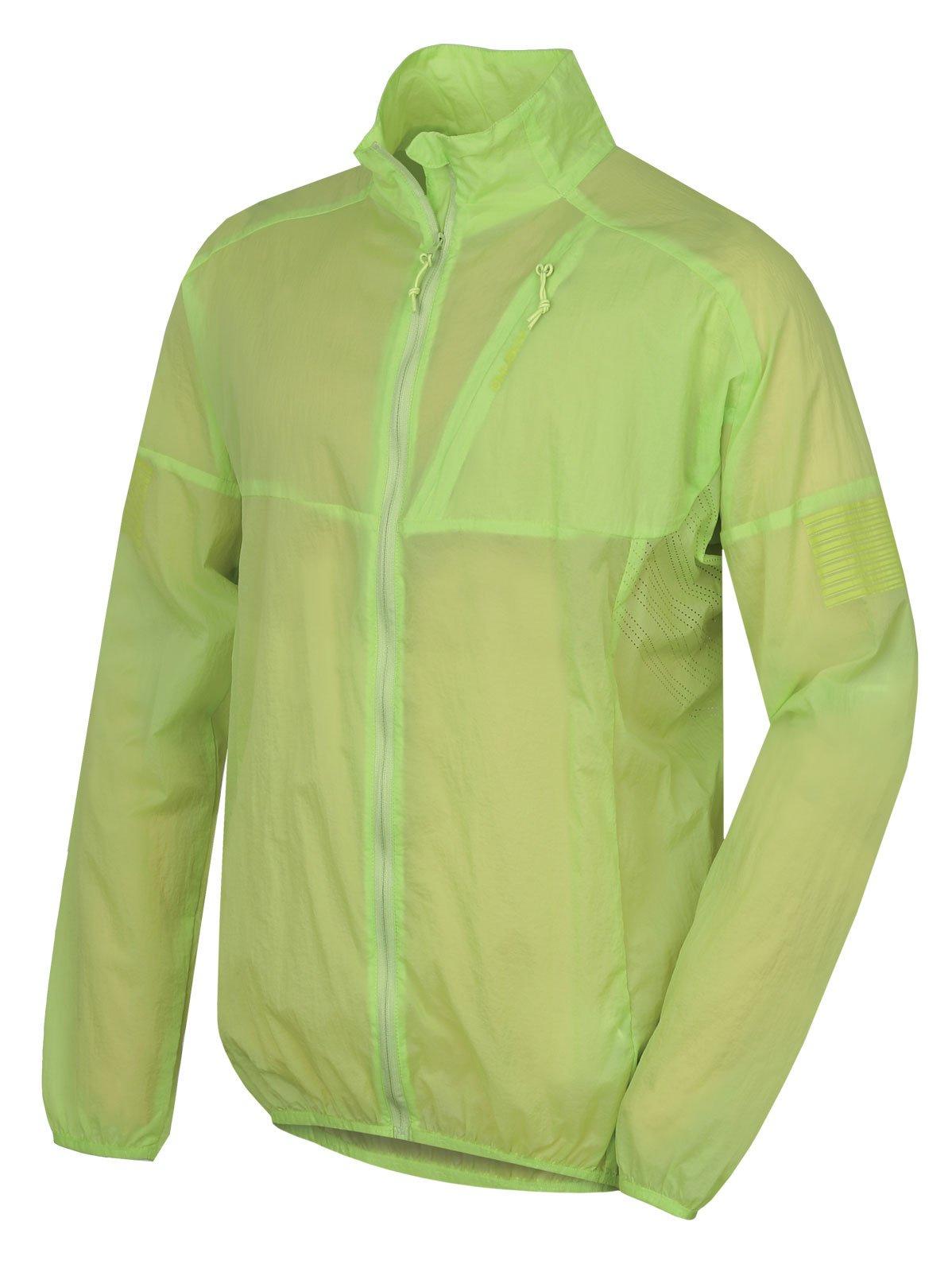 Husky Loco M sv. zelená, XXL Pánska ultraľahká bunda