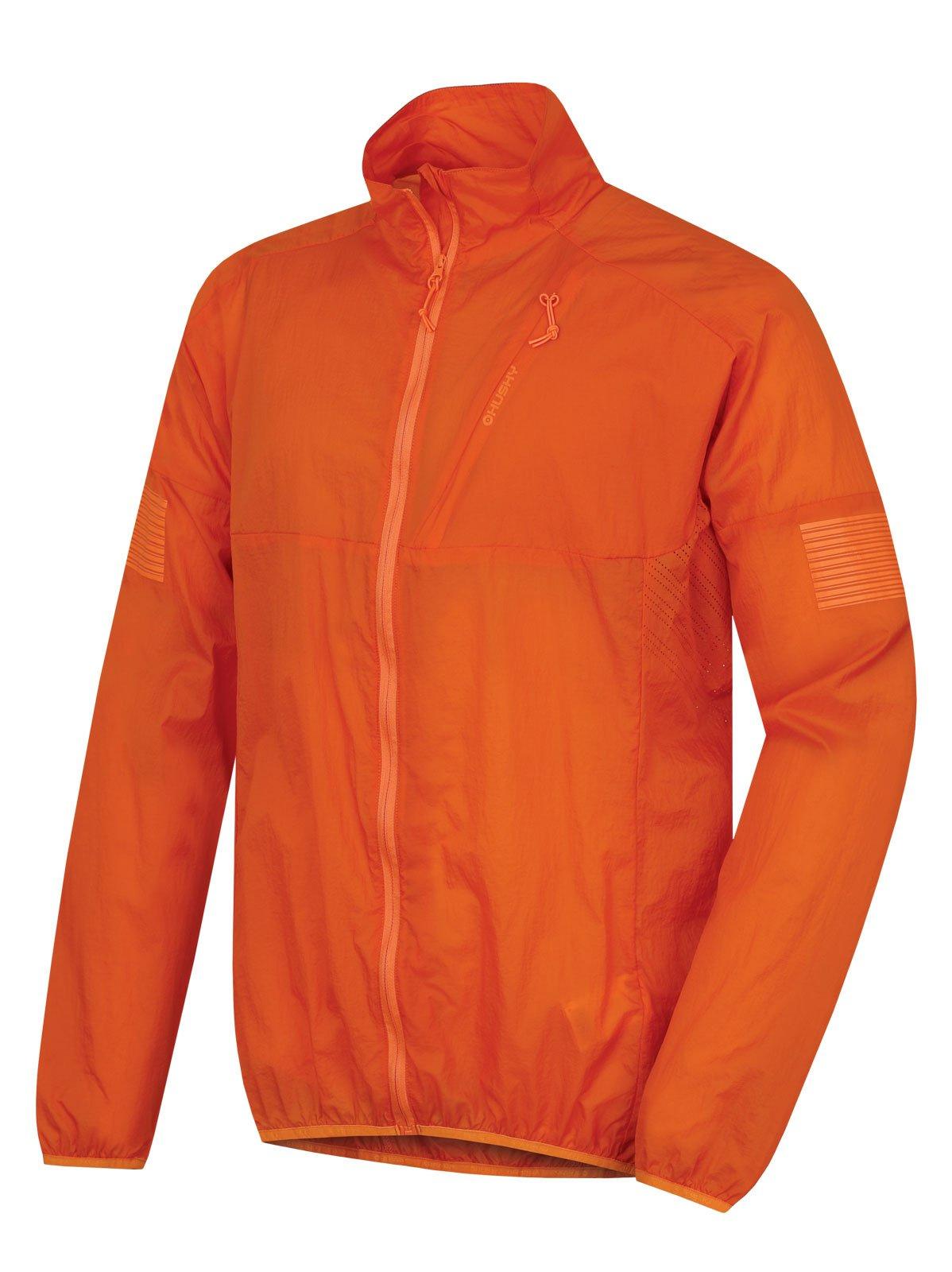 Husky Loco M oranžová, L Pánska ultraľahká bunda