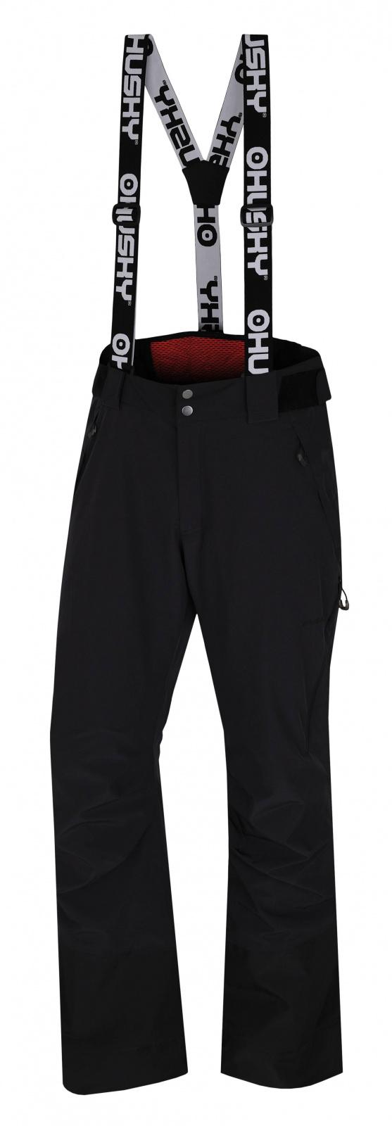 Husky Mitaly M čierna, XL Pánske lyžiarske nohavice