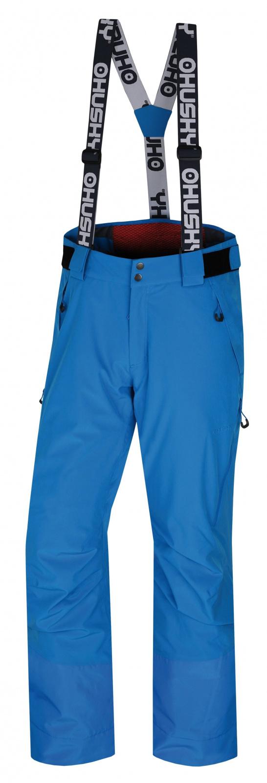 Husky Mitaly M modrá, XL Pánske lyžiarske nohavice