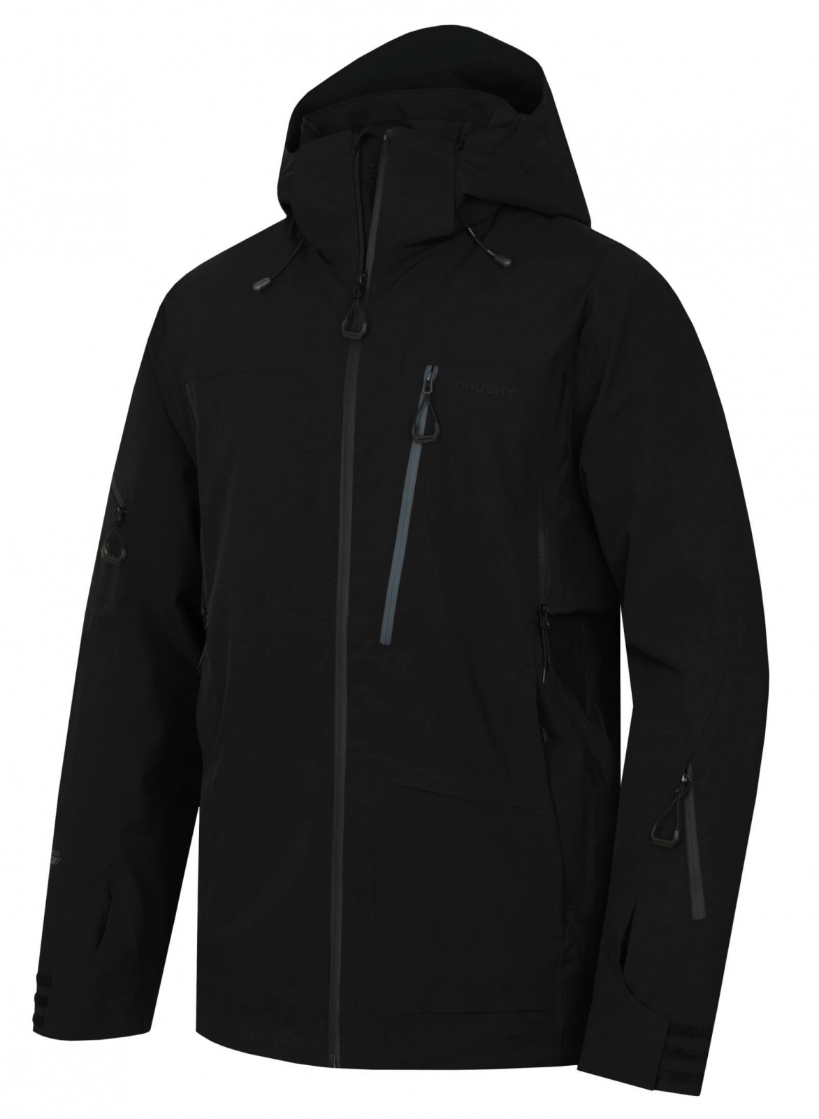 Husky Montry M čierna, XL Pánska lyžiarska bunda