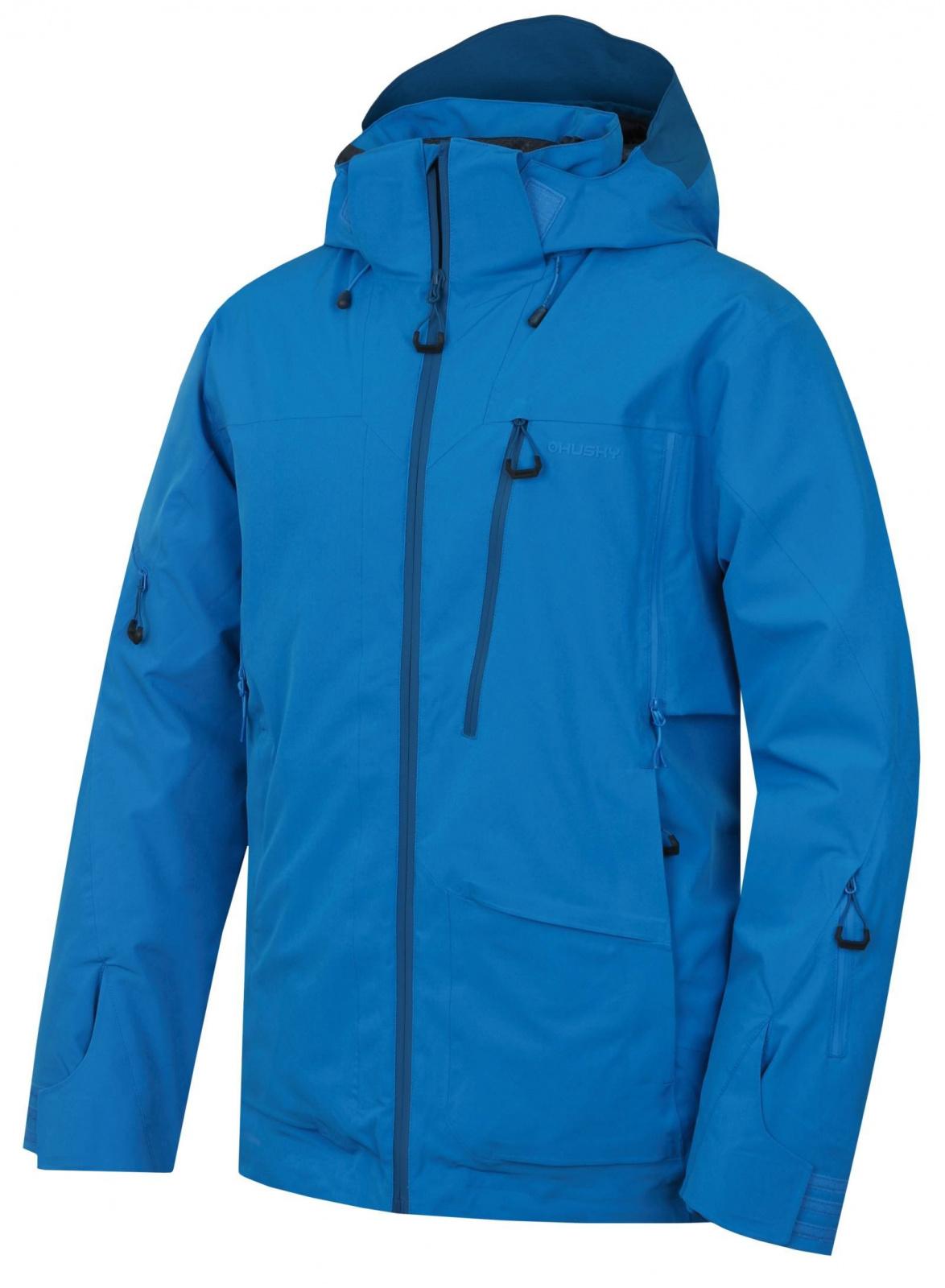 Husky Montry M modrá, M Pánska lyžiarska bunda