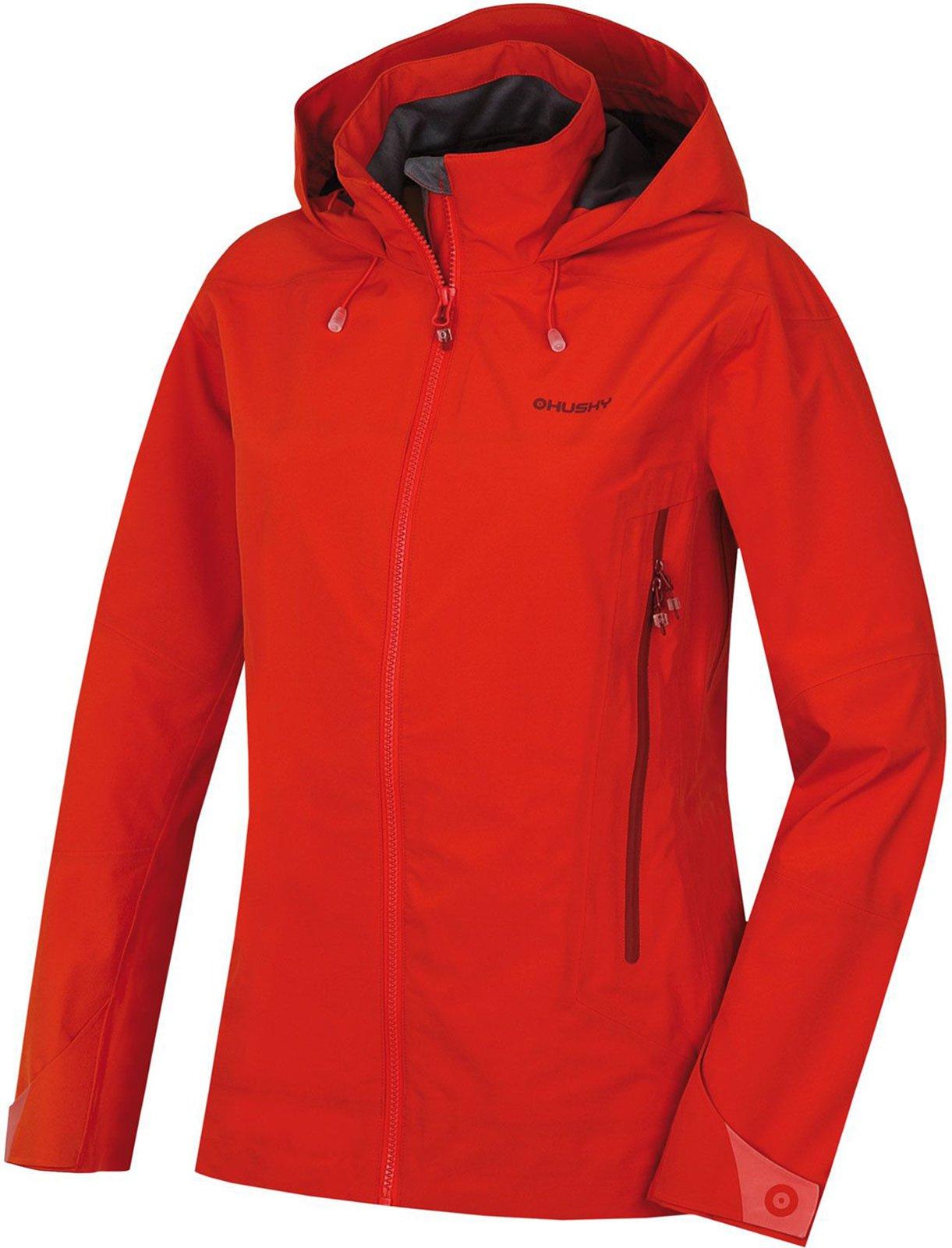 Husky Nakron L červená, S Dámska outdoor bunda
