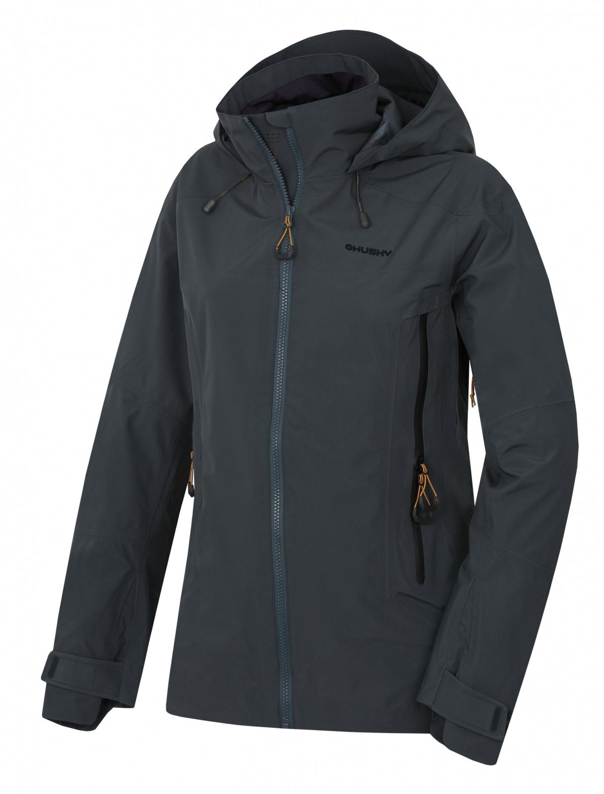 Husky Nakron L čierný mentol, XL Dámská outdoor bunda