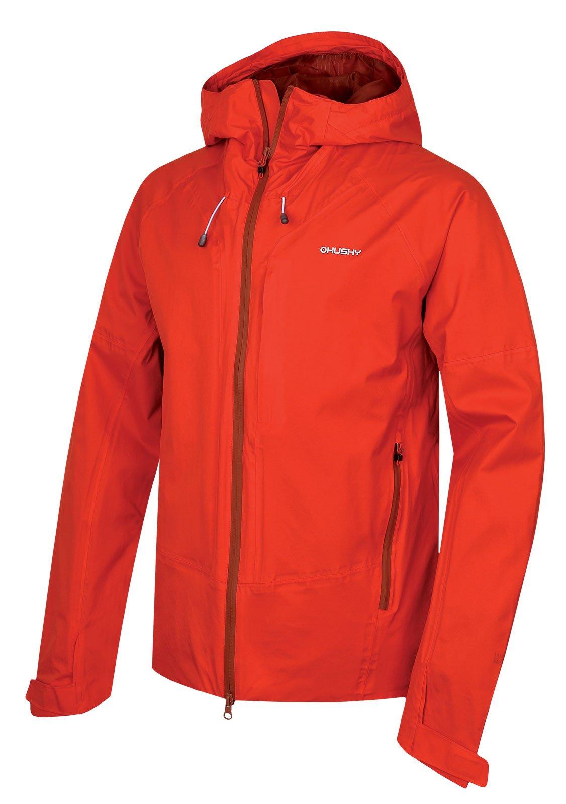 Husky Nicker M červená, XL Pánska hardshellová bunda