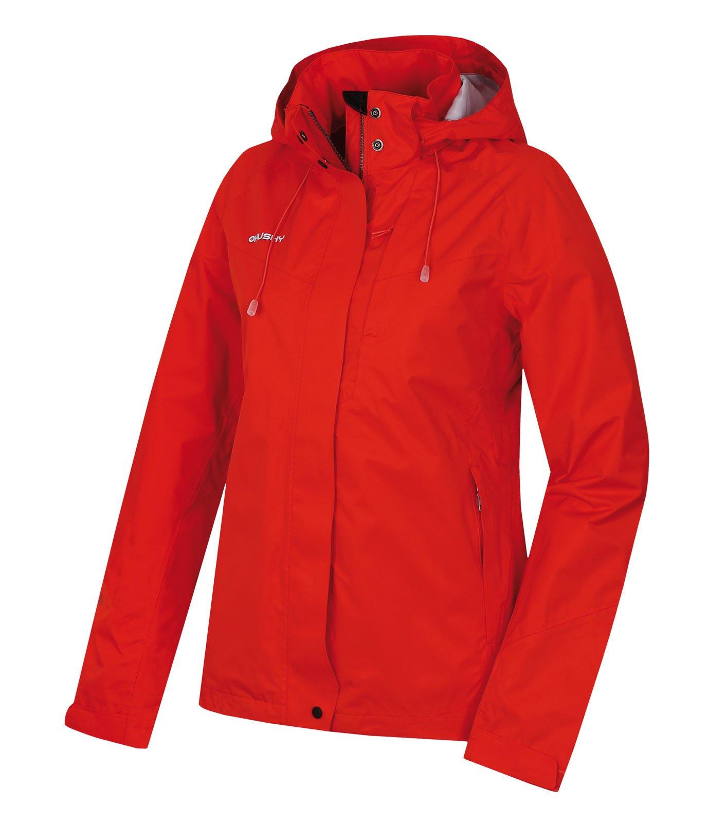 Husky Nutty L červená, XL Dámska hardshellová bunda