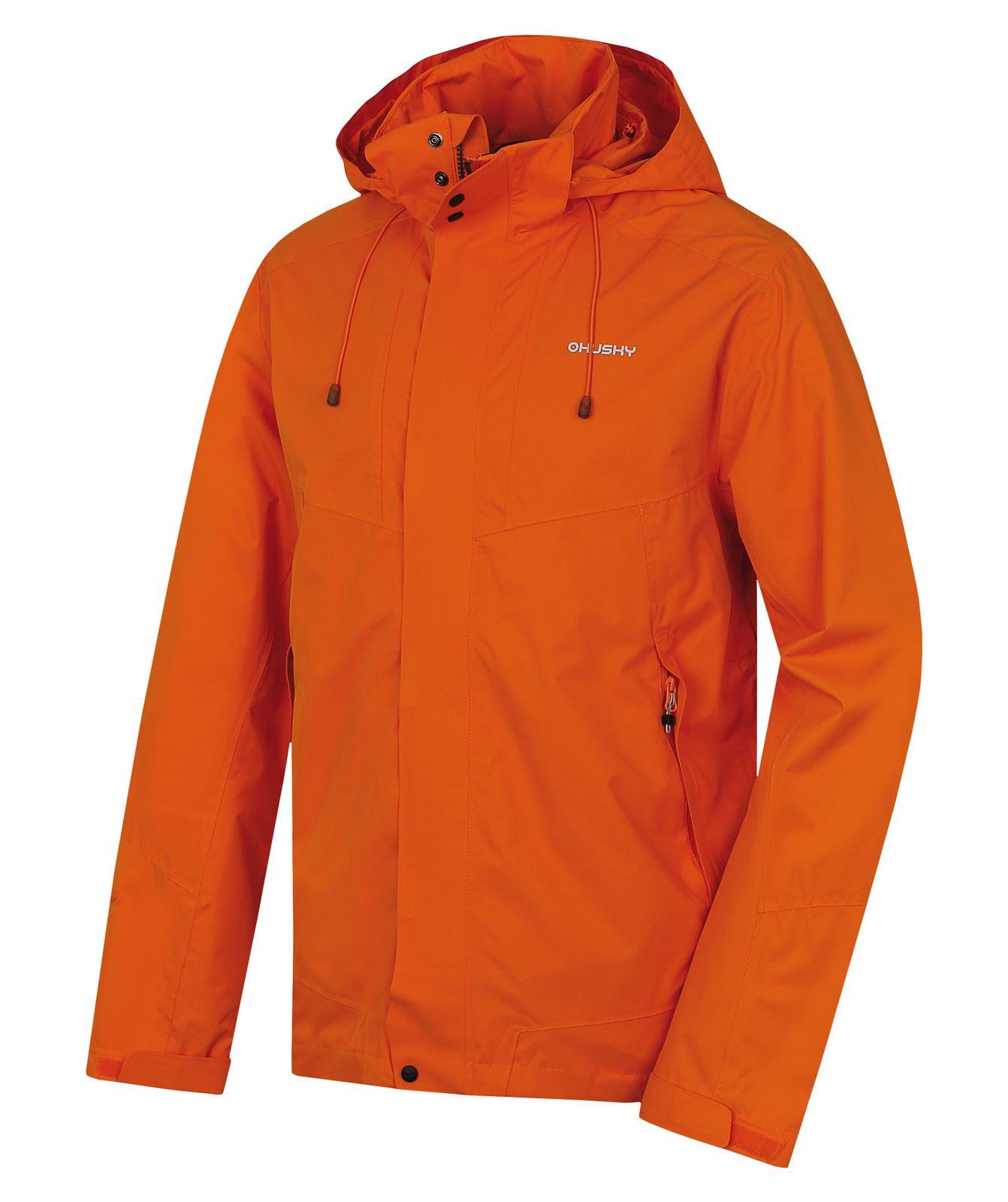 Husky Nutty M oranžová, L Pánska hardshellová bunda
