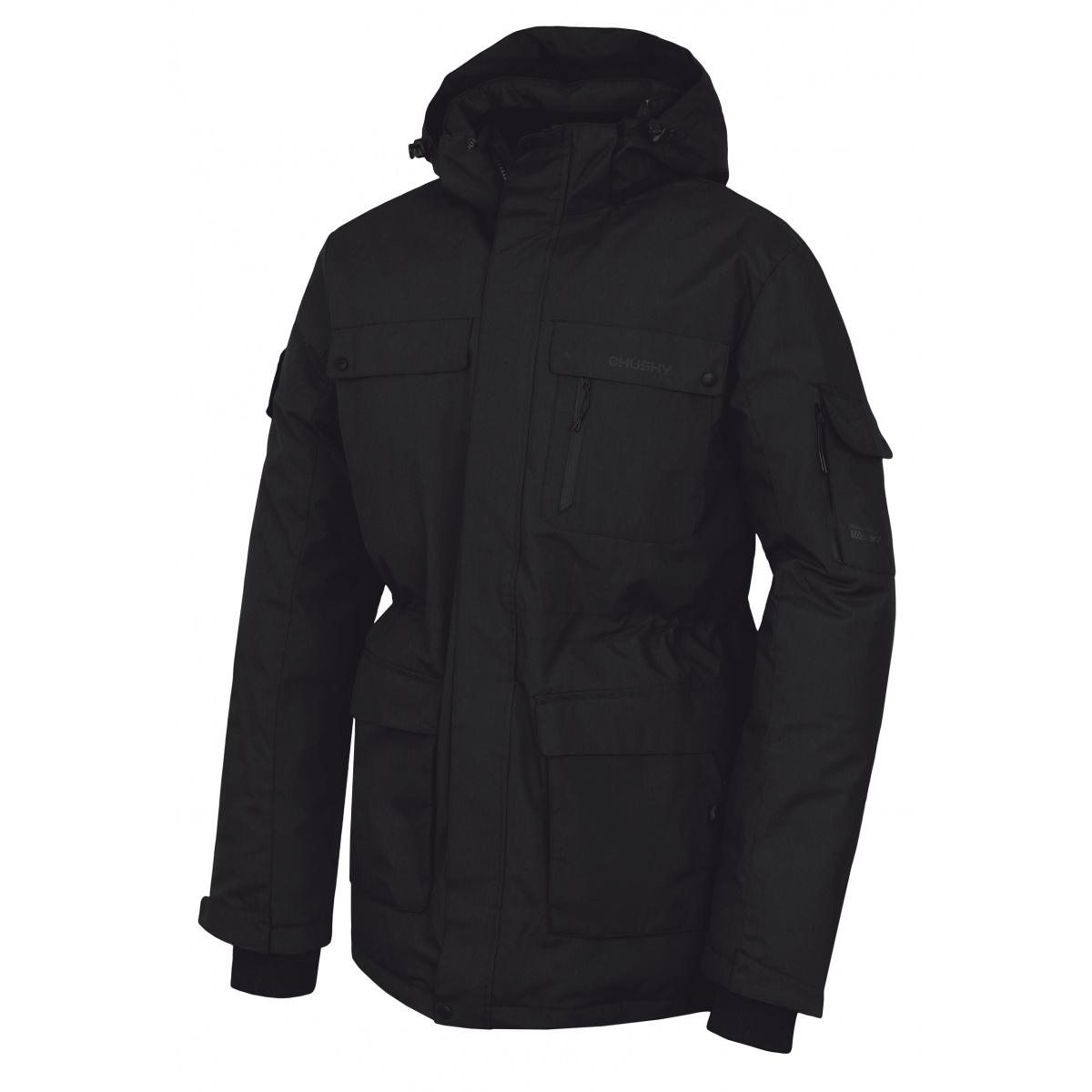 Husky Dantex M čierna, XL Pánska perová bunda