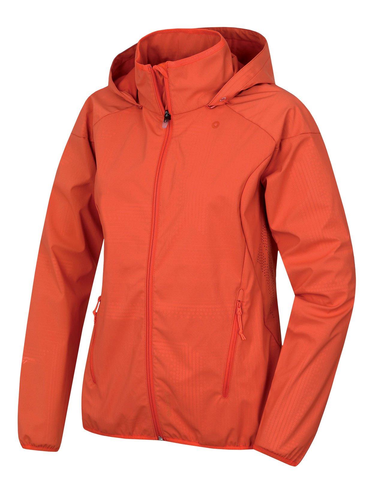 Husky Sally L výrazne oranžová, XS Dámska softshellová bunda
