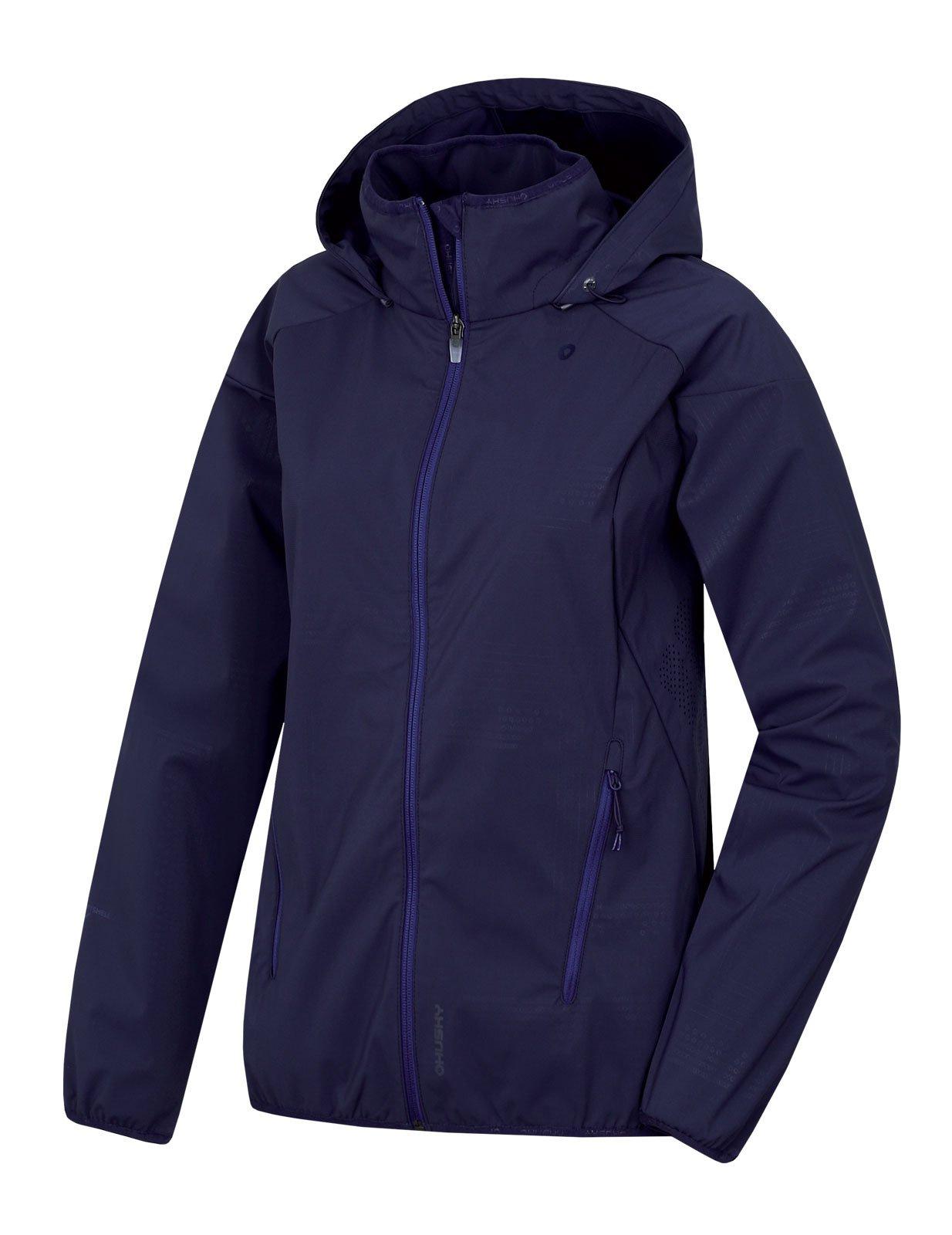 Husky Sally L tm. modrofialová, M Dámska softshellová bunda