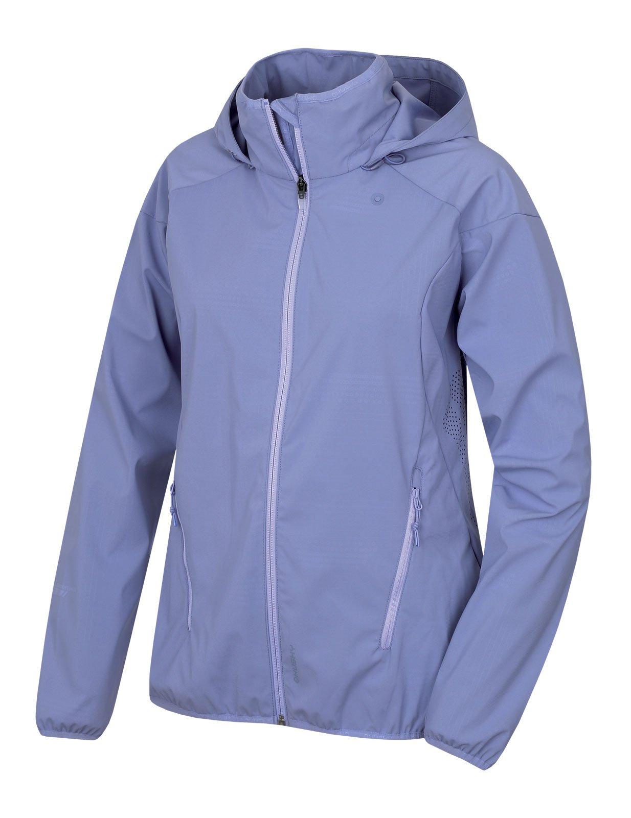 Husky Sally L sv. modrofialová, M Dámska softshellová bunda