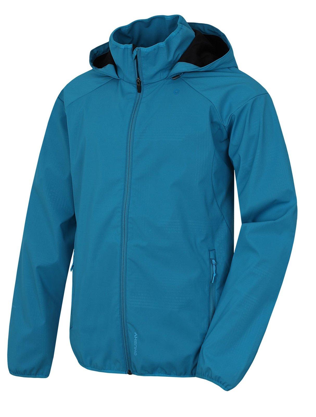 Husky Sally M modrá, M Pánska softshellová bunda
