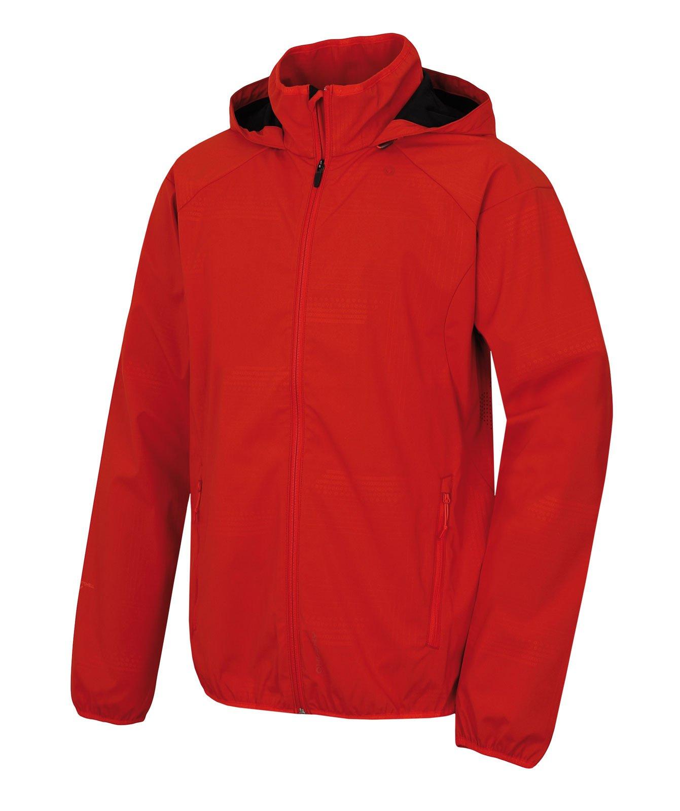 Husky Sally M červená, XXL Pánska softshellová bunda