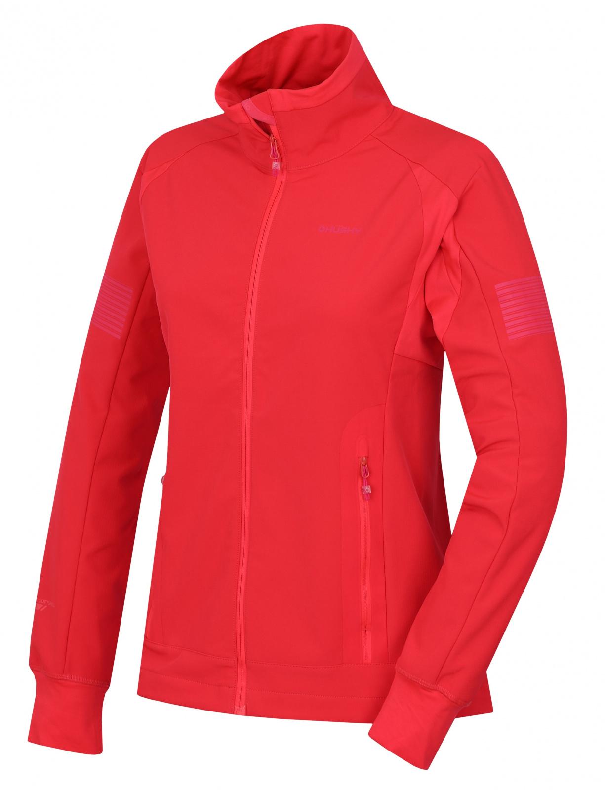 Husky Scooby L neonovo ružová, XL Dámska softshell bunda