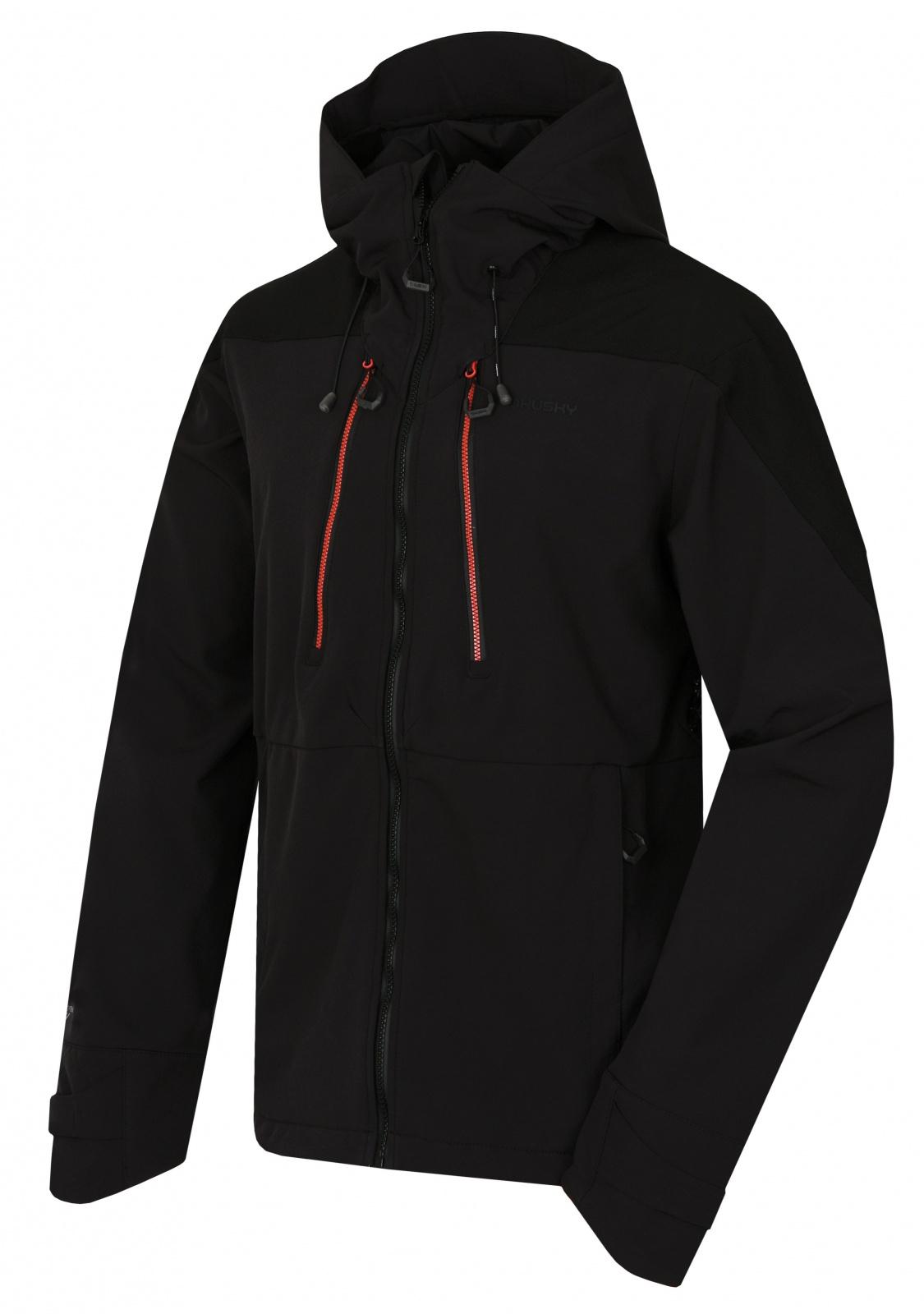 Husky Sevan M čierna, XL Pánska softshell bunda