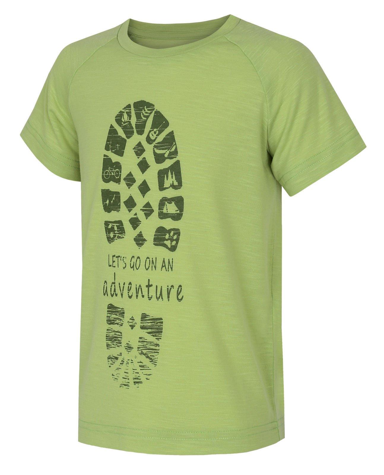 Husky Zingl Kids sv. zelená, 122 Detské tričko