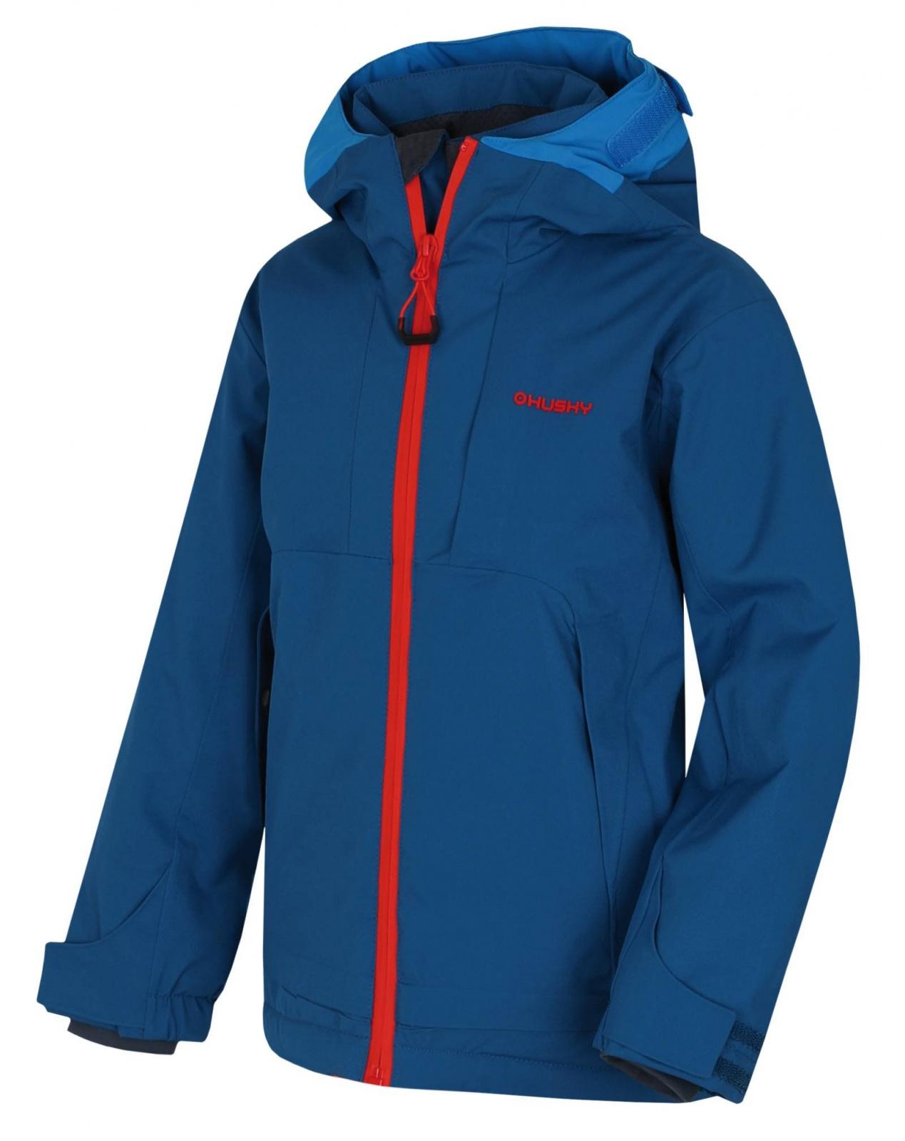 Husky Zisi Kids tm.modrá, 134-140 Detská ski bunda